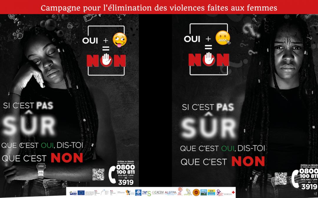 21ème campagne pour l'élimination des violences faites aux femmes