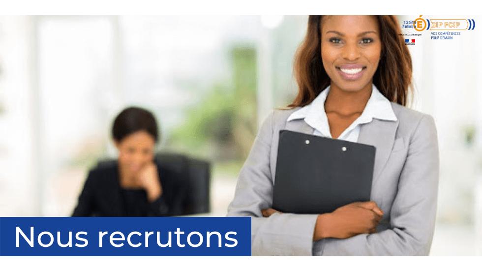 Le GIP-FCIP Académie Martinique recrute un(e) Assistant(e) de gestion administrative et financière.